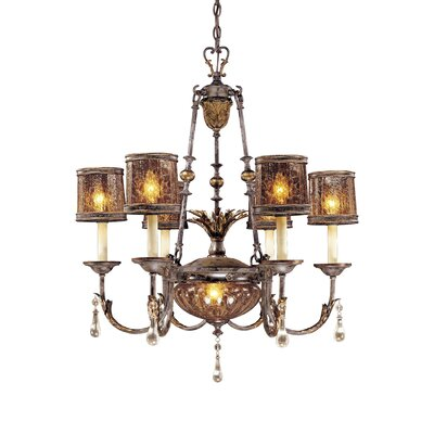 Metropolitan by Minka Sanguesa 7 Light Chandelier