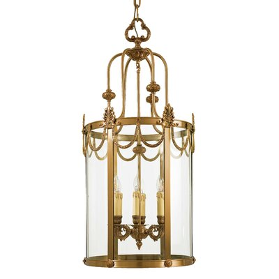 Metropolitan by Minka Vintage 6 Light Foyer Pendant