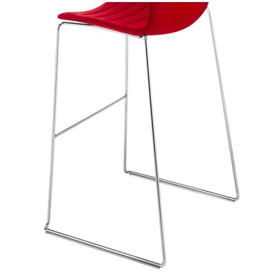Arper Catifa 46 Barstool with Two-Tone Seat