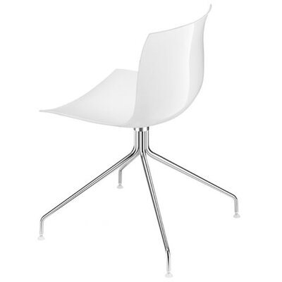 Arper Catifa 53 Side Chair with Single-Tone Seat and Glides