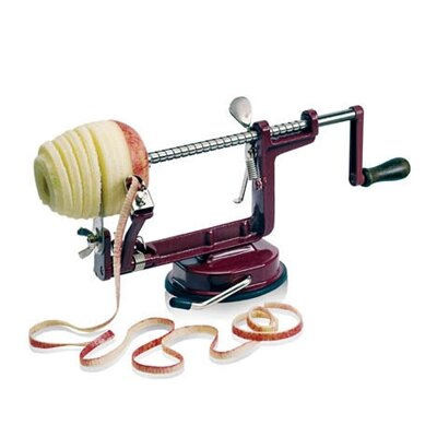 Paderno World Cuisine Apple Peeler with Suction Cup