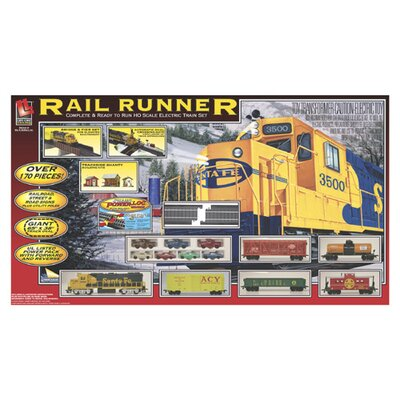 Life-Like Rail Runner Train Set
