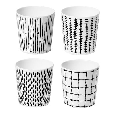 Design House Stockholm Bono Mugs (Set of 4) by Catharina Kippel