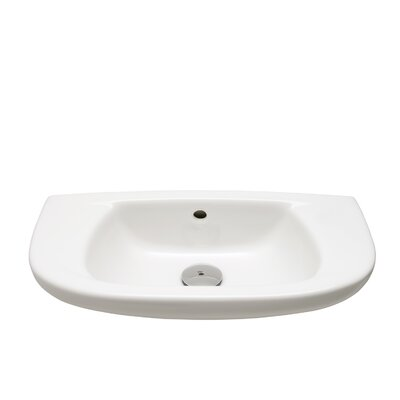 Bissonnet Universal Sena Bathroom Sink in White
