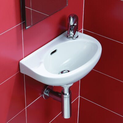 Bissonnet Universal Nila Wall Mount Bathroom Sink
