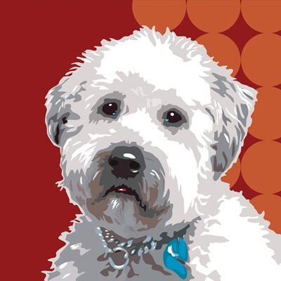 Naked Decor Pooch Décor Wheaten Terrier Portrait