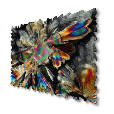 "All My Walls Crystallized Universe Abstract Wall Art - 23"" x 35"""