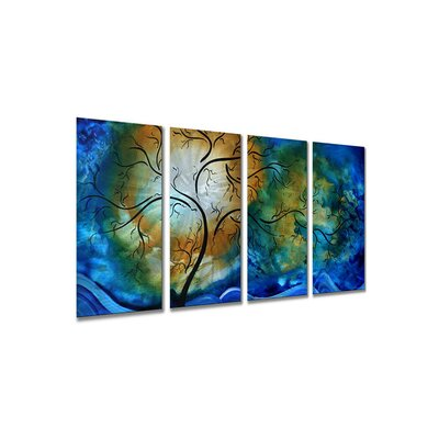 Deep Sky by Megan Duncanson, Abstract Wall Art - 23.5