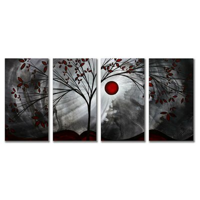 "All My Walls Classic Beauty by Megan Duncanson, Abstract Wall Art - 23.5"" x 48"""