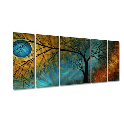 Beauty In Contrast by Megan Duncanson, Abstract Wall Art - 23.5