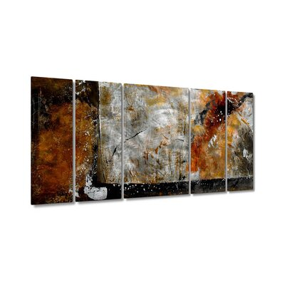 Bronze Brushed by Ruth Palmer, Abstract Wall Art - 23.5