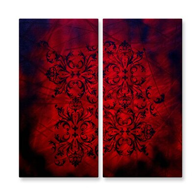 Richness Of Color Metal Wall Hanging