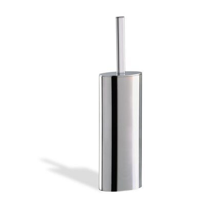 Stilhaus by Nameeks Diana Free Standing Toilet Brush Holder in Chrome
