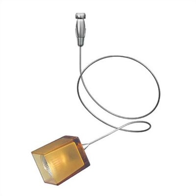 LBL Lighting Cube 1 Light Curl Track Head - Fusion Track Adaptable