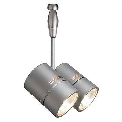 LBL Lighting Twin 2 Light Spot Swivel Track Head - Fusion Track Adaptable