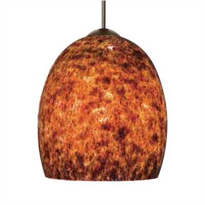 LBL Lighting Lava II 1 Light Mini Pendant
