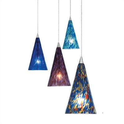 LBL Lighting Cone II 1 Light Mini Pendant