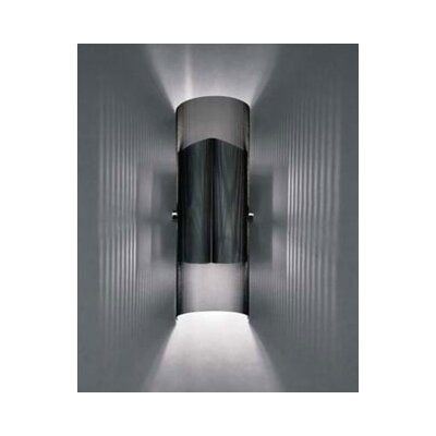 LBL Lighting Presidio 226Q 120V Two Light Wall Sconce in Black