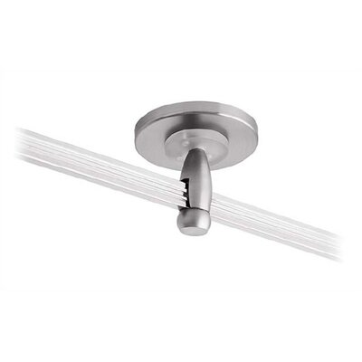 "LBL Lighting 2.75"" Single Feed Direct Power Feed Canopy for LED Monorail"