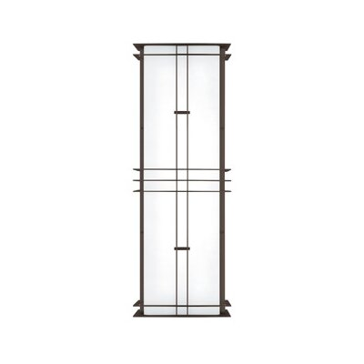 LBL Lighting Modular Industrial 277V 17W Medium Two Light Outdoor Wall Sconce in Bronze