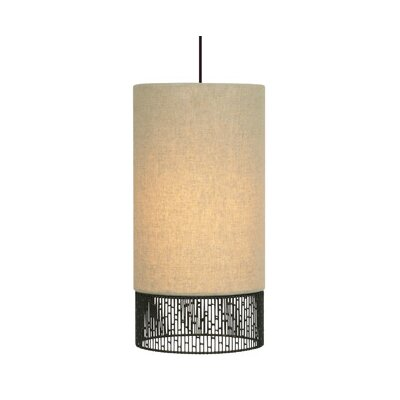 LBL Lighting Hollywood 1 Light Long Drum Pendant