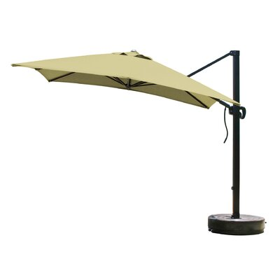 California Umbrella 10' Square Cantilever Umbrella