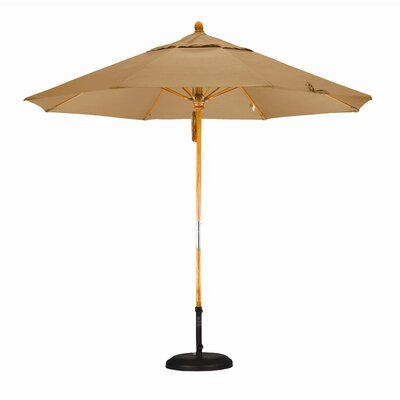 California Umbrella 9' Fiberglass Market Umbrella with Pulley