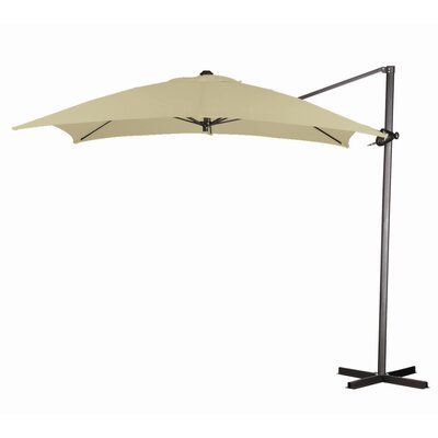 8' Square Cantilever Steel Market Umbrella