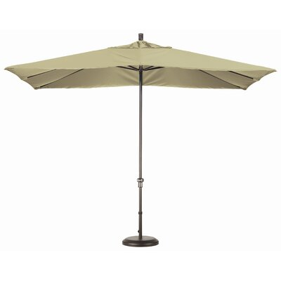11' x 8' Rectangular Aluminum Market Umbrella