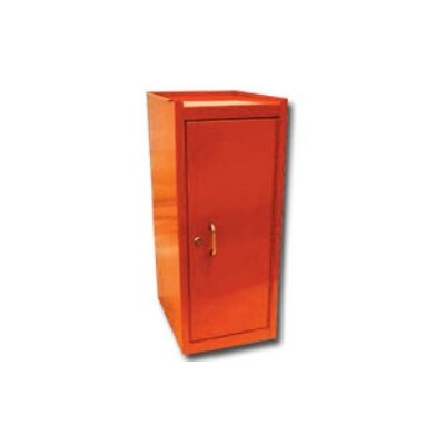 International Tool Box Side Half Locker W/Shelf Orange