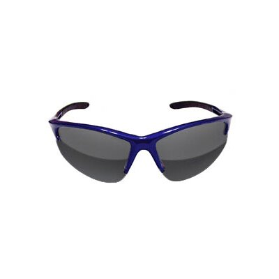 SAS Safety Mirror Lens Blue Frame Safety Glasses