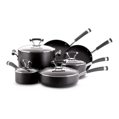 Circulon Contempo Aluminum 10-Piece Cookware Set