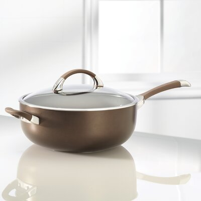 Circulon Symmetry 6.5-qt. Stainless Steel Chef's Pan with Lid
