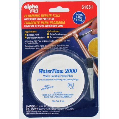 alphafry Water Soluble Flux & Brush AM51051