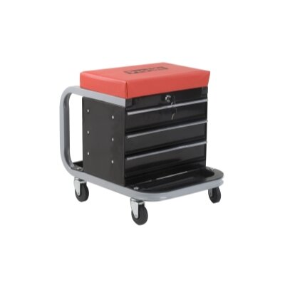 Omega 300 Lbs. Creeper Seat Tool Box
