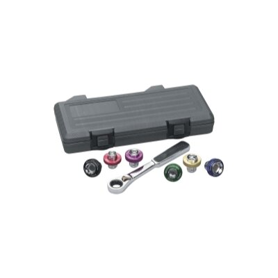 KD Tools 7 Pc Magnetic Drain Plug Socket Set