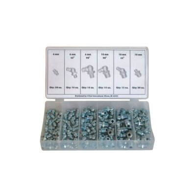 K Tool International Grease Fitting Assortment Metr