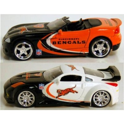 ERTL NFL '06 Dodge Viper Cars Cincinnati Bengals (Set of 6)