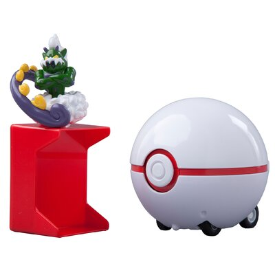 ERTL Pokemon Catch 'N Return Tornadus and Pokeball