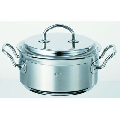 Rosle 7 1/9-Qt. Stainless Steel High Casserole