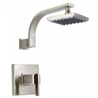 "Danze® Sirius One Handle Shower Trim with 6"" Shower Head in Brushed Nickel"