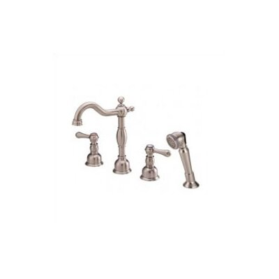 Danze® Opulence Double Handle Roman Volume Tub Faucet with Hand Shower Faucet Trim