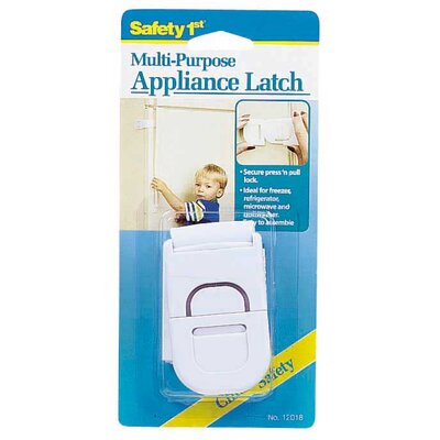 Safety 1st Multi-Purpose Appliance Latch in White