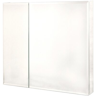Pegasus Bi-View Beveled Mirrored Medicine Cabinet