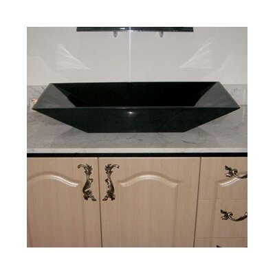 Pegaus Rectangular Boat Vessel Bathroom Sink - VSL-04K