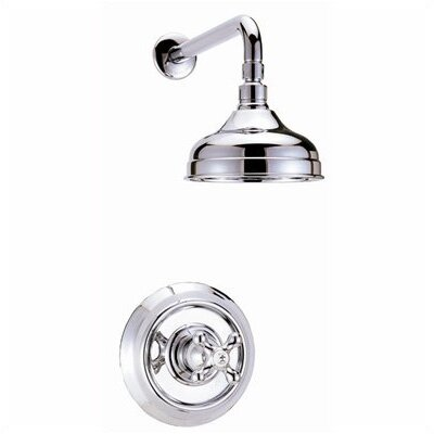 Belle Foret Shower Head and Trim Less Handle