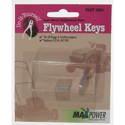 Maxpower Precision Parts Briggs and Stratton Flywheel Keys