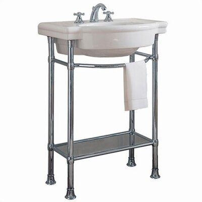 Retrospect Console Table with Bathroom Sink - 0282.008 / 8711.000