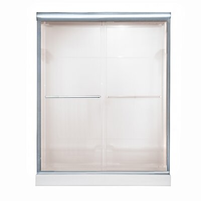 American Standard Euro Frameless By-Pass Bistro Sliding Shower Door