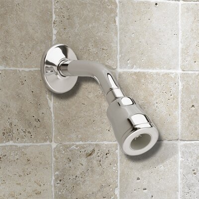 American Standard FloWise Water Saving Volume Showerhead with Arm and Flange